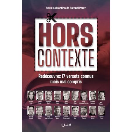 """Couverture recto du livre """"Hors contexte"""""""