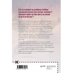 """Verso de la couverture du livre """"Hors contexte"""""""