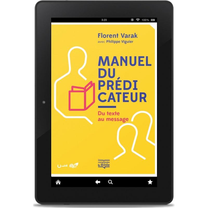 Couverture du livre Manuel du prédicateur publié par Éditions Clé